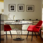 Ambiente moderno con mobiliario de Vitra