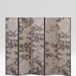 Biombo tapizado en seda de Rubelli Exception
