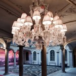 Chandelier de 24 luces diseñado por Philippe Starck para Baccarat