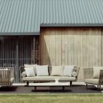 Colección de muebles outdoor Bitta de Kettal