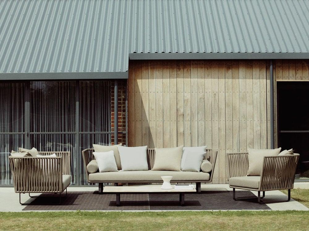 Mobiliario de exterior de las mejores marcas en gunni for Kettal muebles