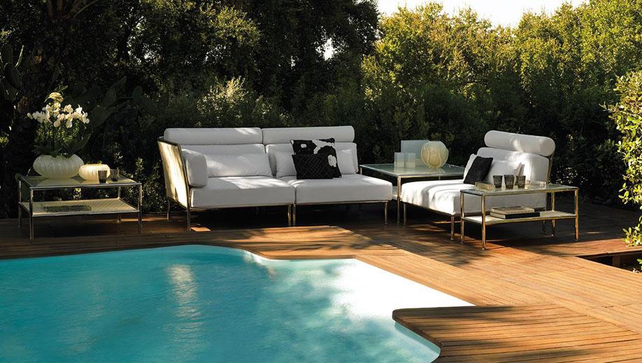 Muebles de exterior gunni trentino for Sofas de terraza y jardin