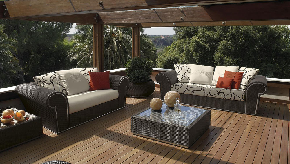 Muebles de exterior gunni trentino for Muebles exterior outlet