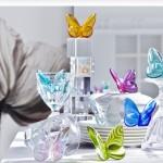 Colecciones de objetos dcorativos en cristal Baccarat
