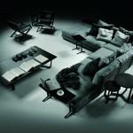 Composición del sofá modular Cestone de Antonio Citterio para Flexform