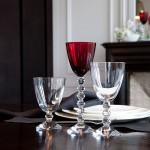 Copas clásicas de cristal Baccarat