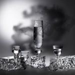 Copas de cristal diseño de Marcel Wanders