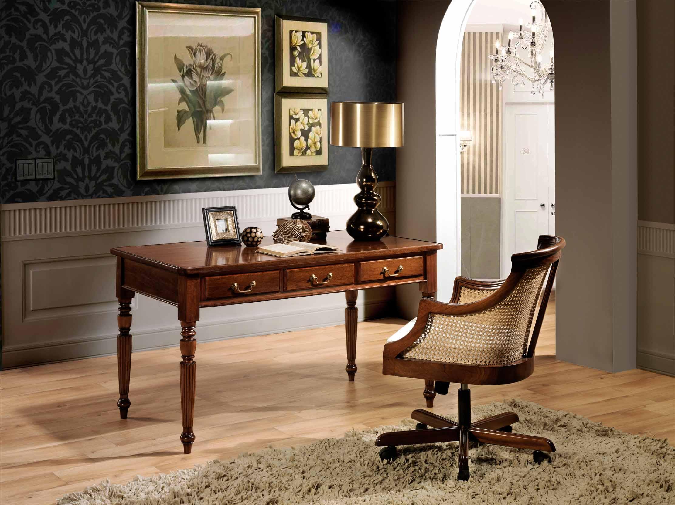 Mobiliario de oficina gunni trentino - Muebles despacho clasico ...
