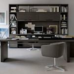 Despacho de dirección con mobiliario de B&B Italia Project