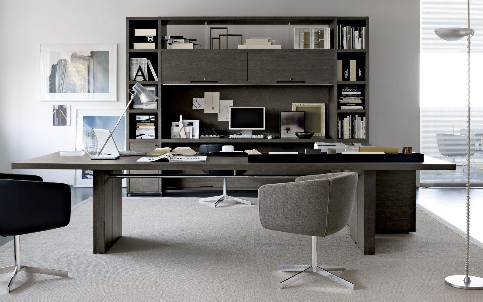Mobiliario de oficina de dise o y moderno en gunni trentino for Interior oficinas modernas