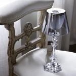 Diseño de lámpara de Philippe Starck para Baccarat