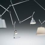 Distintas versiones de la lámpara Tolomeo