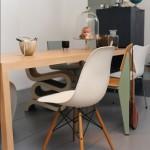 Eames Plastic Chair, silla de Jean Prouvé y otros modelos, de Vitra