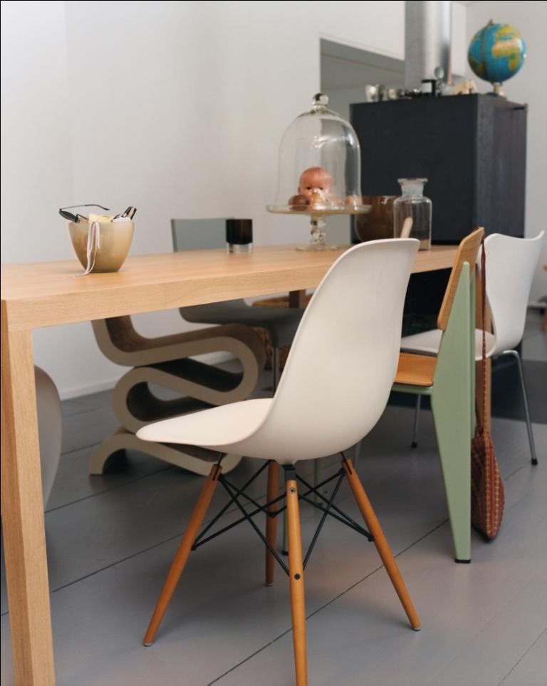 eames plastic chair silla de jean prouv y otros modelos de vitra