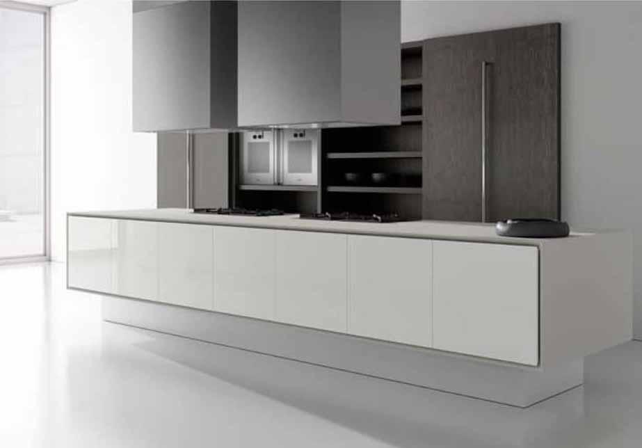 Cocinas modernas minimalistas ercolan gunni trentino - Cocinas gunni trentino ...