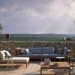 Muebles de exterior en madera de Roda en GUNNI&TRENTINO