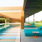 Tumbonas de diseño de Paola Lenti en GUNNI&TRENTINO