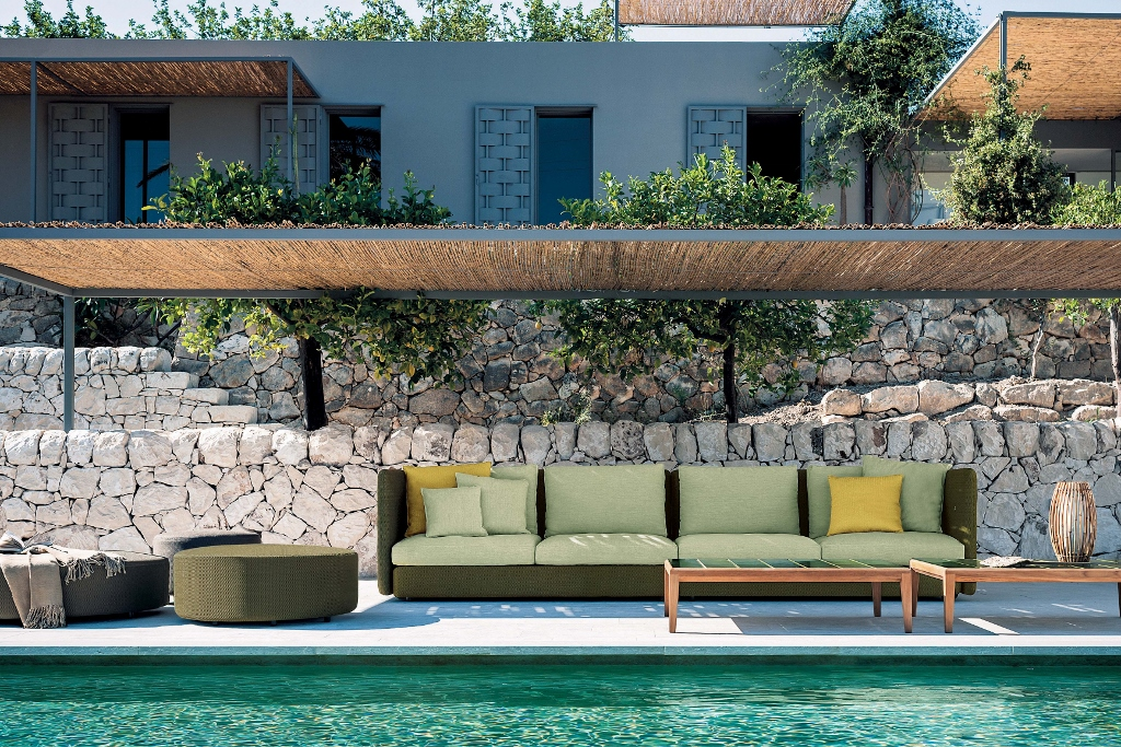 Mobiliario exterior y para jardín de diseño en GUNNI&TRENTINO