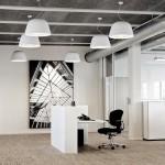 Iluminación moderna para oficinas