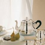 Juegos de té y platería de Ercuis