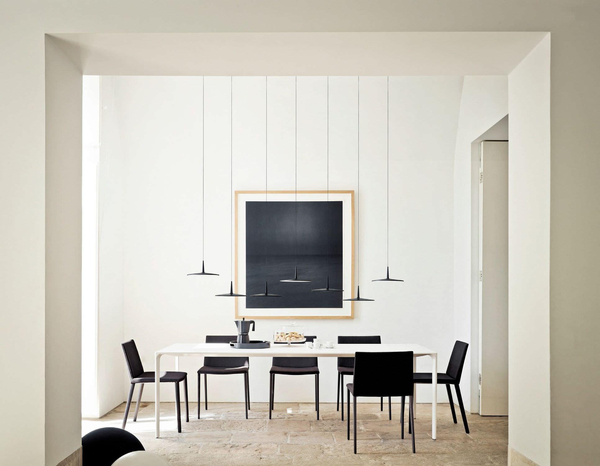 Iluminaci N De Dise O Decorativa Y Moderna Gunni Trentino ~ Lamparas Colgantes Modernas Para Comedor