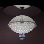 Lámpara de suspensión de Baccarat, modelo Sora.