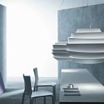 Lámpara de techo Le Soleil en policarbonato