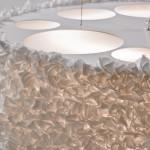 Lámpara de techo en tela Miuu de Arturo Alvarez