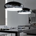 Lámpara moderna de techo en metal modelo Hublo de Cattelan Italia