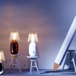 Lámparas de mesa diseño de Jaime Hayón para Baccarat