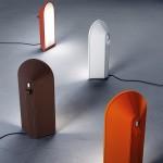Lámparas de mesa modelo Odeon de Fontana Arte