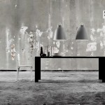 Lámparas de suspensión Caravaggio en ambiente industrial