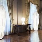 La versatilidad de la lámpara de pie o de mesa Gatto de Flos