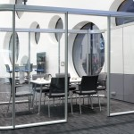 Mamparas para espacios de trabajo colaborativos