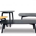 Mesas de centro modernas en madera diseño de Roberto Lazzeroni