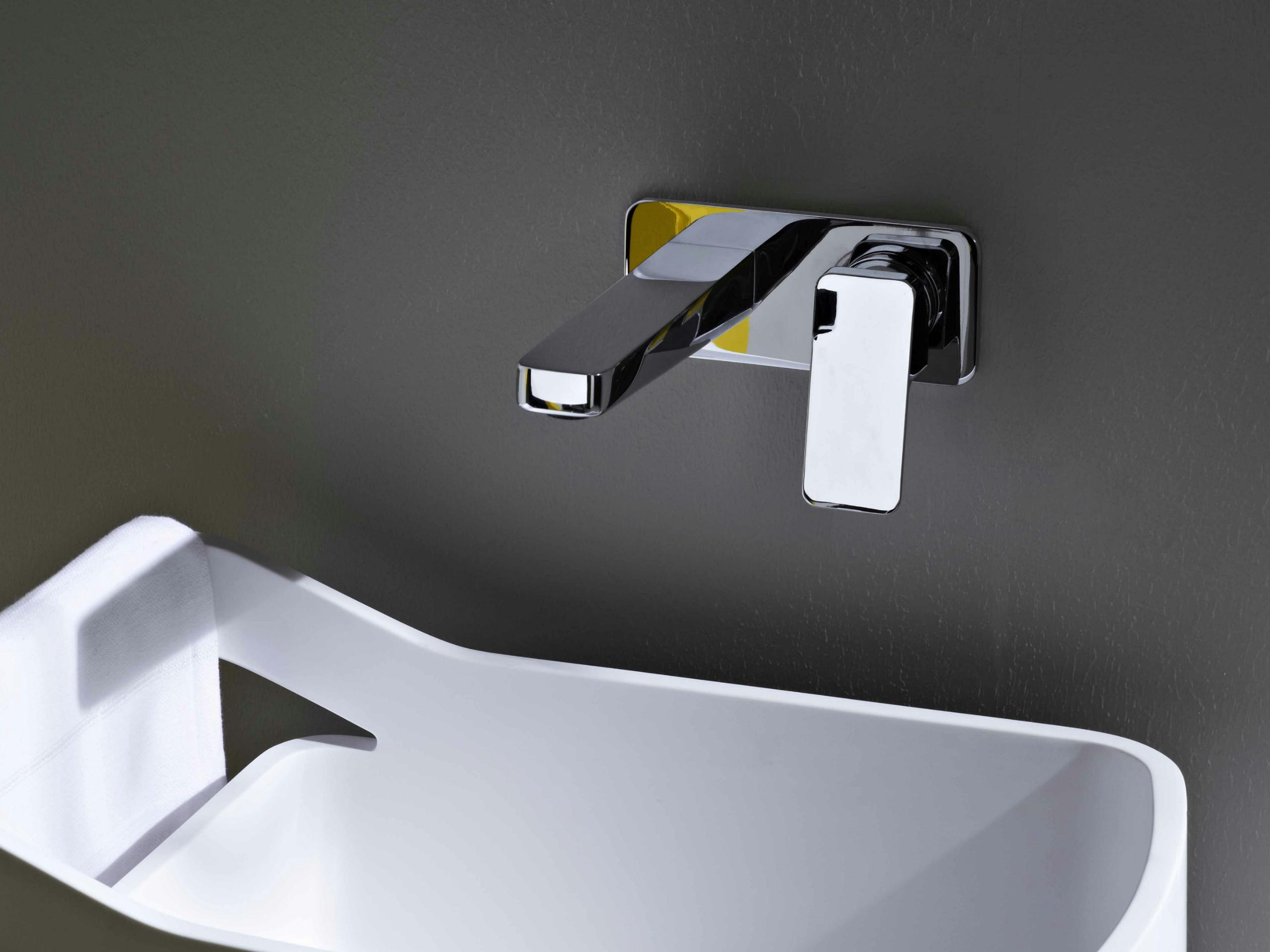 Cabinas De Ducha Kos:Mezclador de lavabo de pared Zucchetti