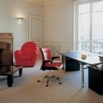 Mobiliario de lujo para oficina y despachos de dirección Poltrona Frau