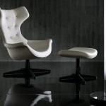 Mobiliario de oficina para dirección de Poltrona Frau