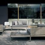 Mobiliario moderno de exterior de Roda