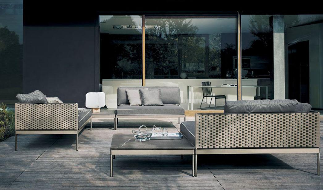 Mobiliario exterior y para jard n de dise o en gunni trentino for Mobiliario de jardin moderno