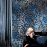 Mosaico para pared serie Colibrí