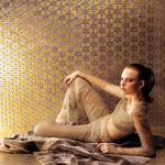 Mosaicos con acabado metalizado