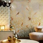 Mosaicos dorados de Sicis
