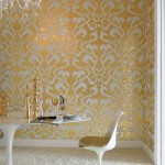 Mosaicos dorados de dibujo