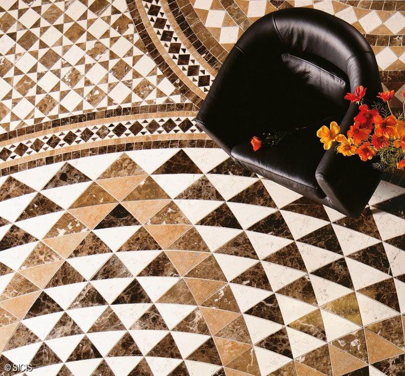 Sicis mosaicos gunni trentino for Marmol veteado sinonimo