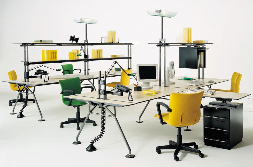 Mobiliario de oficina de dise o y moderno en gunni trentino for Muebles de oficina italianos