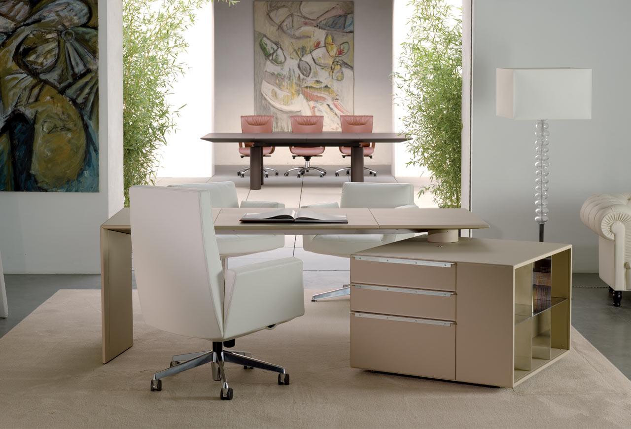 Ilary poltrona frau gunni trentino for Marcas de muebles para oficina