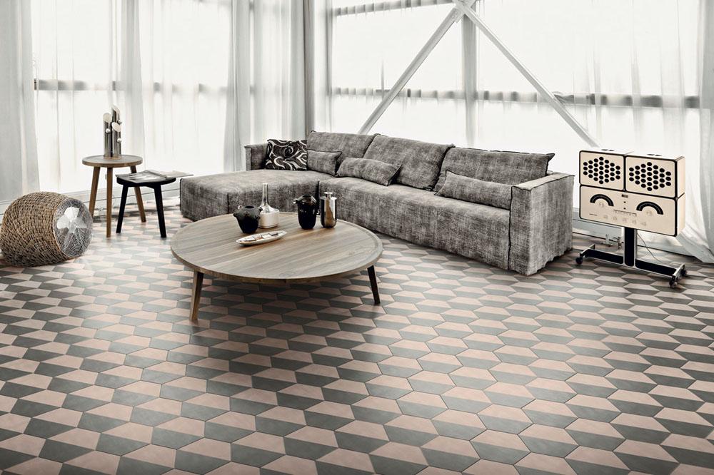 Colección Cement Tiles de Bisazza en Gunni&Trentino