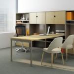 Oficinas modernas con Knoll