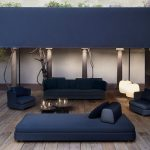 Salones de exterior con mobiliario Paola Lenti en GUNNI&TRENTINO